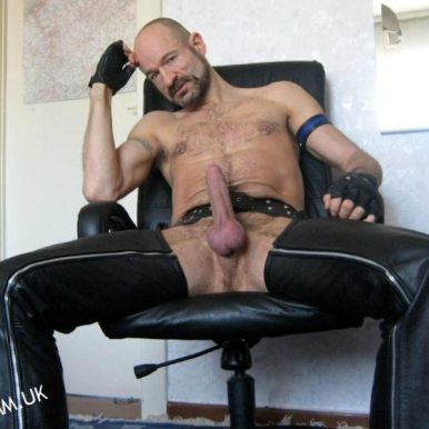 leather daddy dom in ant