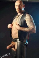 leather daddy hung thick