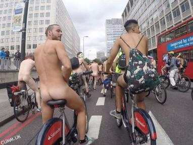 london naked bike man of the match 2