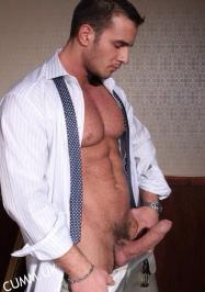 lunch brake office naked massive erection
