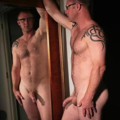 mature sexy manly cock