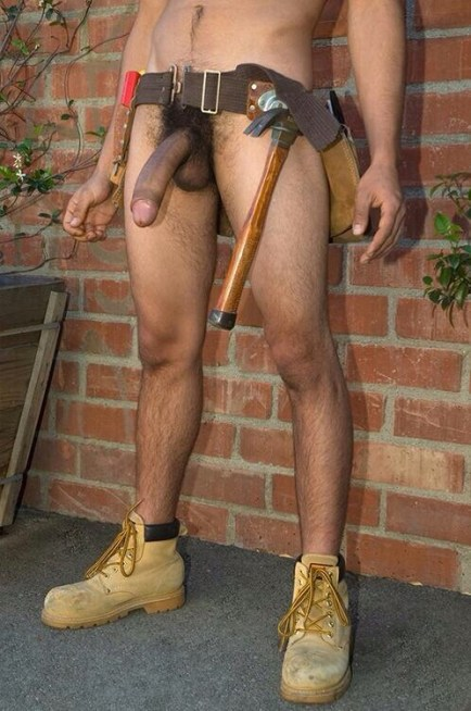naked handyman london