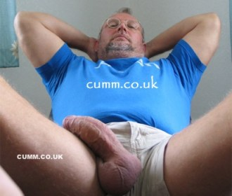 nude big thick mature silver daddy cock