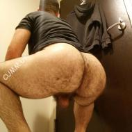 nutts and big hairy butt