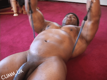 rodney stcloud big dick gym exotic workout