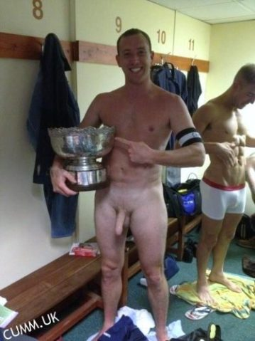 rugby lads naked dressing room
