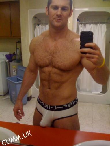 sexy white bulge