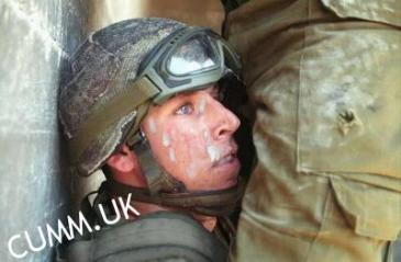 spunked army face