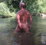 straight guy naked older manhole