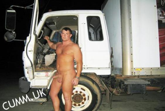 trucker erect big thick cock