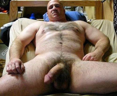 hairy and hung and maybi dad