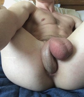 curved cock self fucking