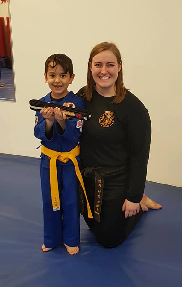 Instructor Kelsey Gafford With Star Student of the Week!