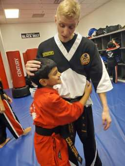 HapKiDo Instructor Zach Vaughn