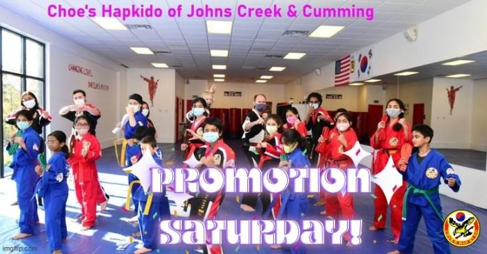 HapKiDo Belt Promotion - Martial Arts Cumming Ga