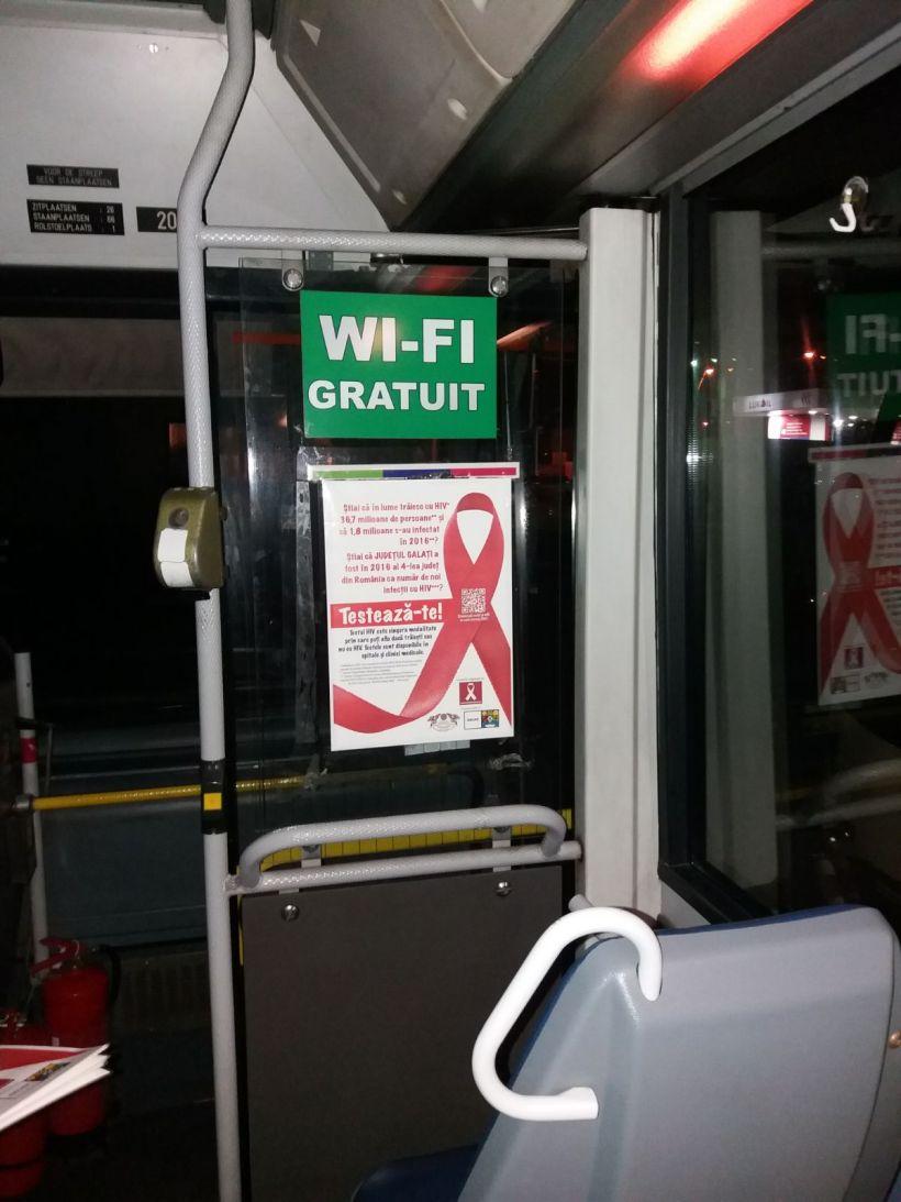 Indemn la testare HIV in autobuzele din Galati!