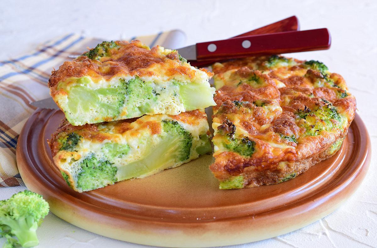 budinca cu broccoli