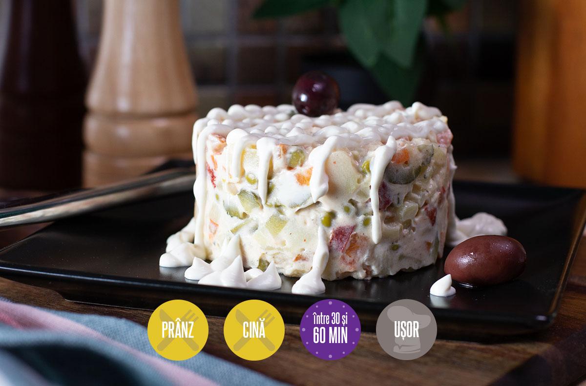 salată a la russe de post