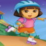 Dora trượt patin
