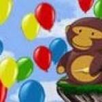 Khỉ con bắn bóng 2