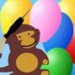 Khỉ con bắn bóng 3