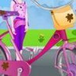 Sửa xe đạp cho Barbie