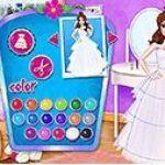 Thiết kế váy cưới công chúa