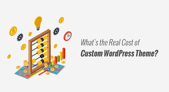 Costofcustomtheme