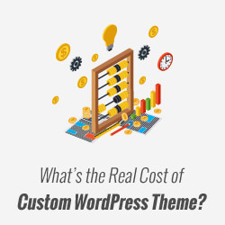 Customwordpressthemecost