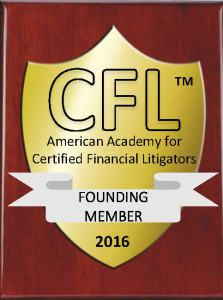 Founding Member, American Academy for Certified Financial Litigators