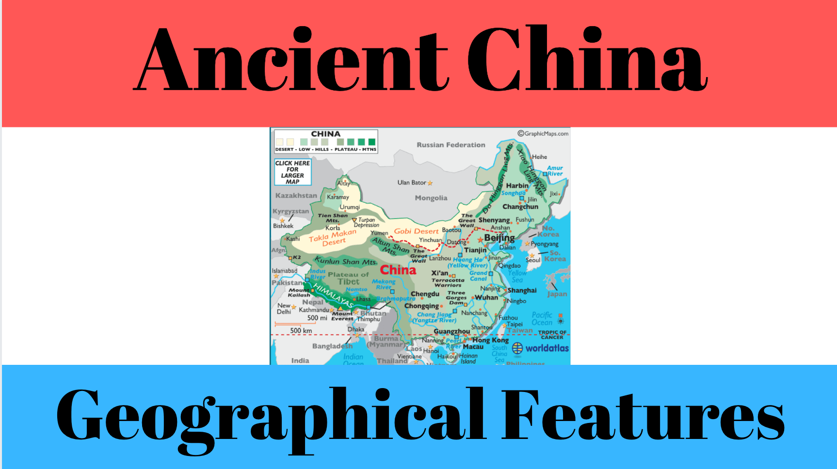 China S Geographical Features
