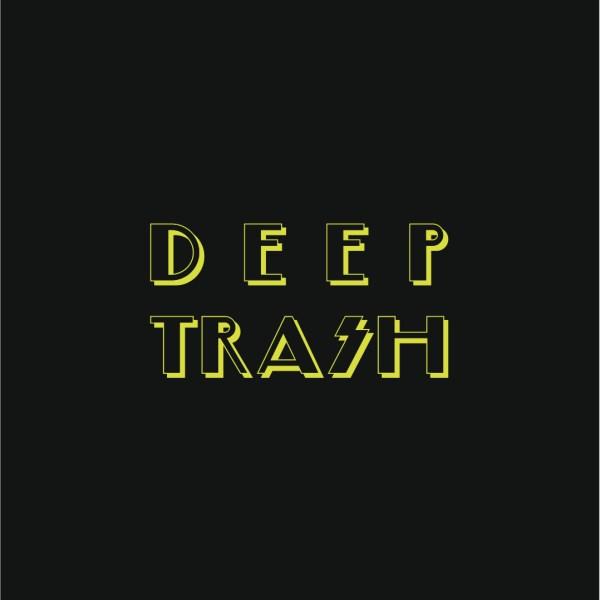 Deep Trash Tote Bag Gold Logo