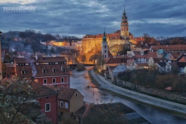 Český Krumlov, Czechia.