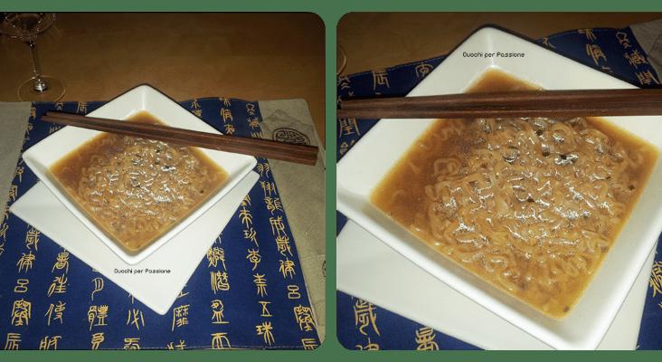 Zuppa di Miso con Noodle