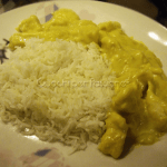 Pollo al Curry con Riso Basmati