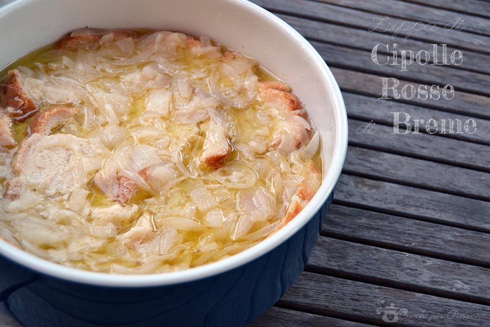 Zuppa di Cipolle Rosse di Breme