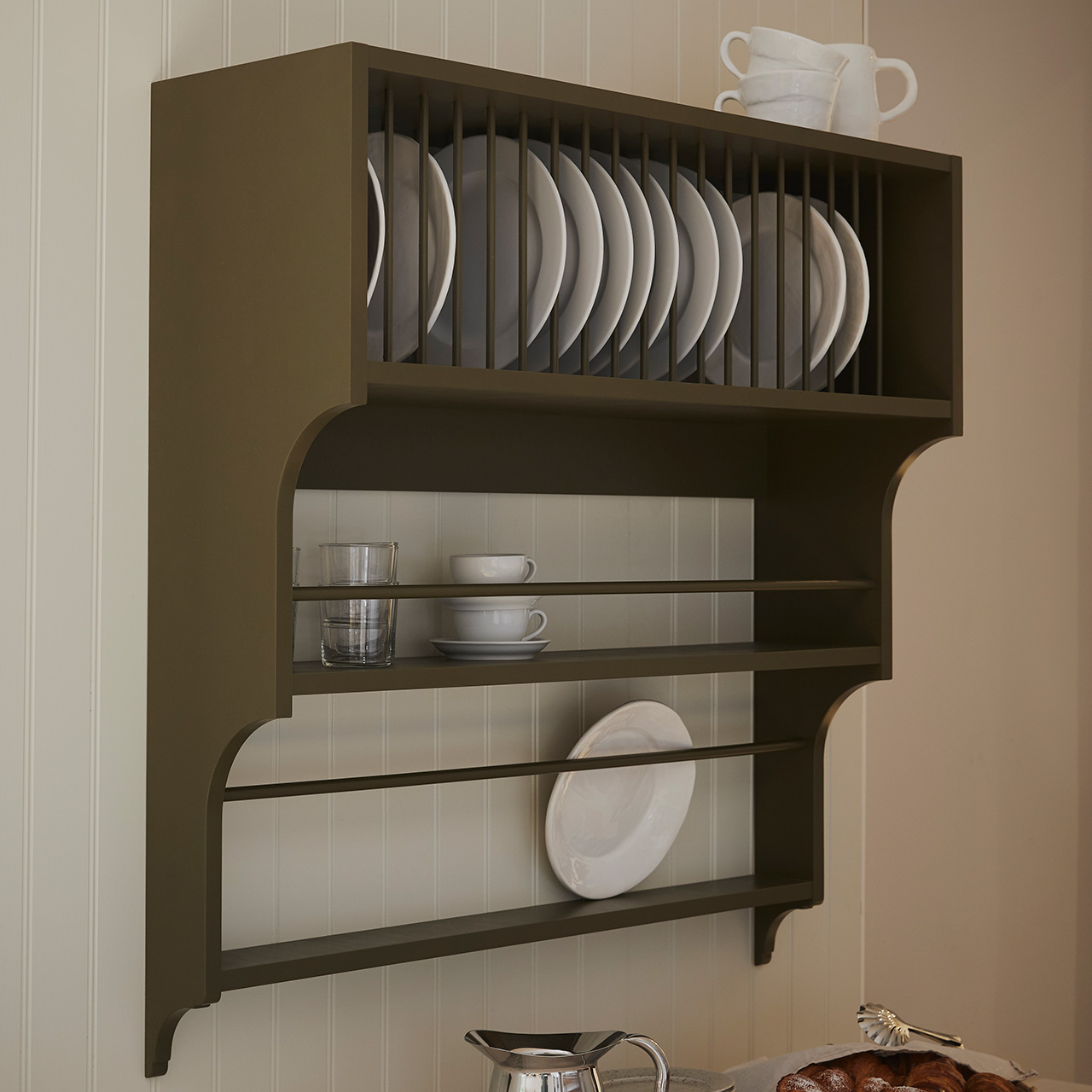 wall mounted plate rack cupboards goods