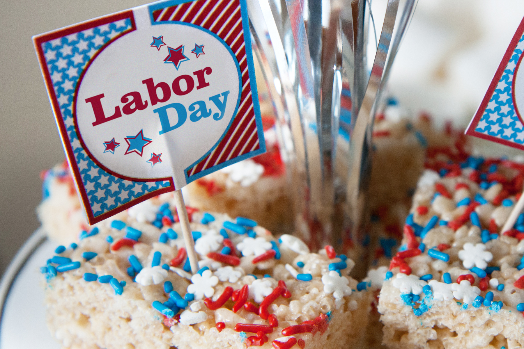 Labor Day Free Party Printables
