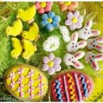 Wielkanocne cytrynowe kruche ciasteczka
