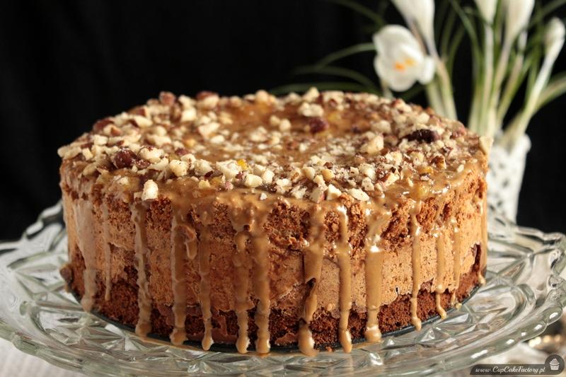 Staropolski tort orzechowy bez mąki