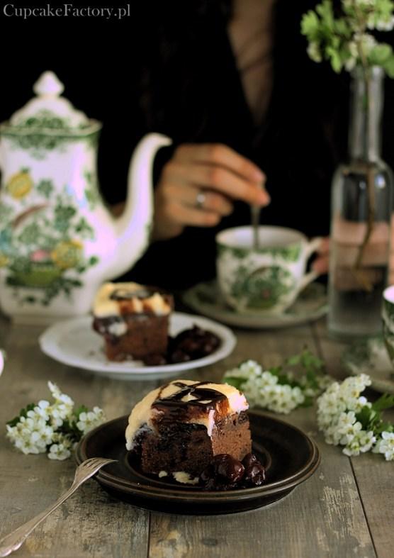 ciasto czekoladowe z wiśniami2