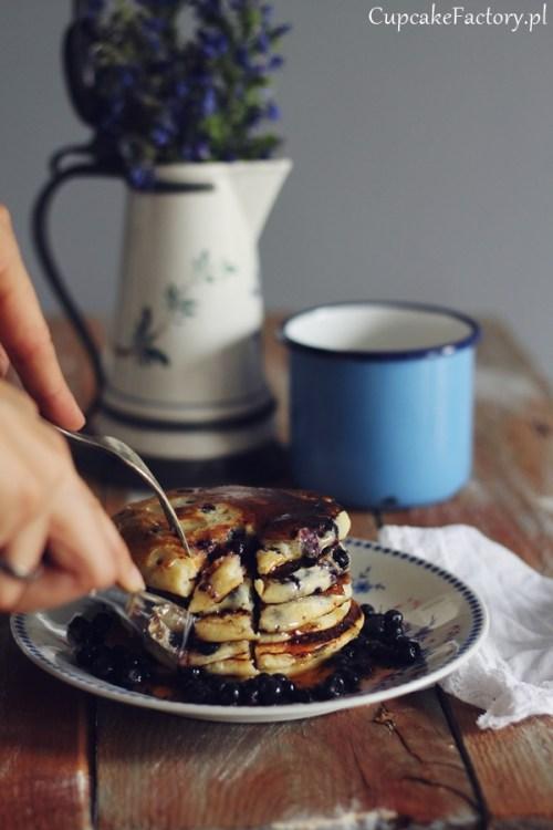 pancakes z ricottą