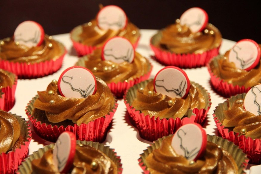 smaug scorched cupcakes