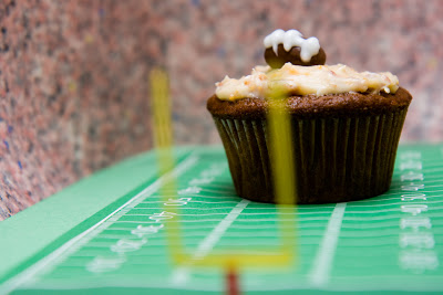 Beer Cheese Cupcakes with Bacon