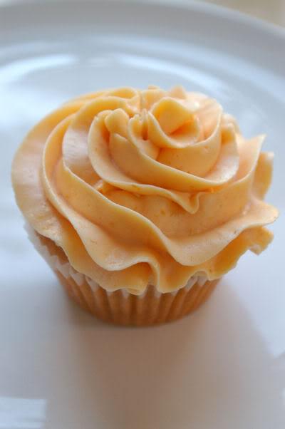 Peach Cupcakes