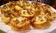Sausage, Egg, Cheese & Hash Brown Cups