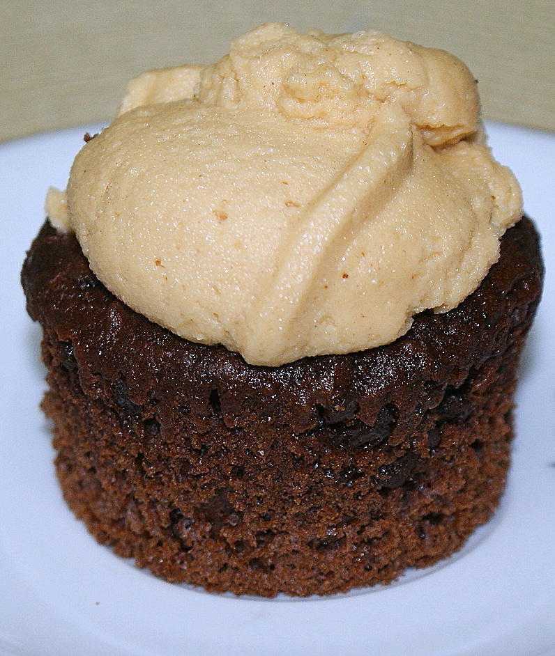 Triple Chocolate Cupcakes