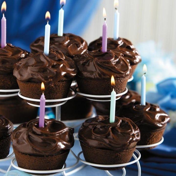 Chocolate-Chocolate Cupcakes (Splenda)