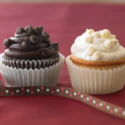 Ghirardelli Dark Chocolate Cupcakes