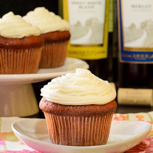 Merlot Cherry Cupcakes